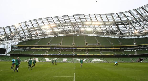 The Aviva Stadium would be at the heart of an all-Ireland bid to stage the 2023 Rugby World Cup