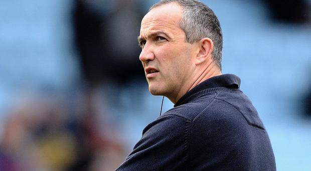 Conor O'Shea, pictured, is boosted by returning England men Chris Robshaw, Joe Marler, Mike Brown and Marland Yarde