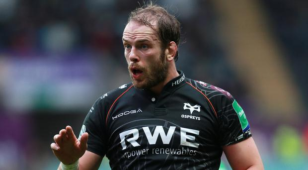 Alun-Wyn Jones was frustrated by the draw but admitted it was the lesser of two evils