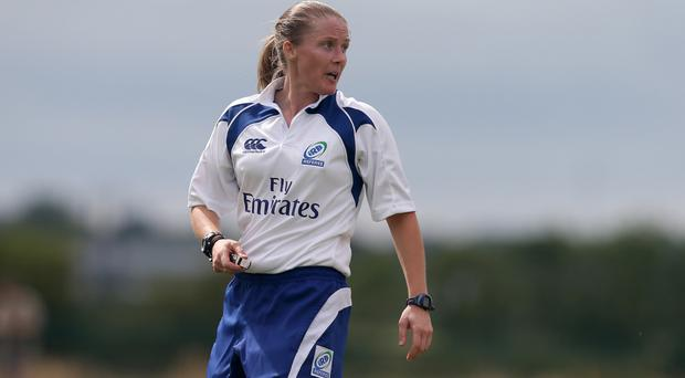 On the up: Helen O'Reilly could oversee PRO12 ties in future