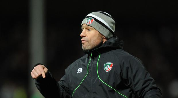 Leicester rugby director Richard Cockerill