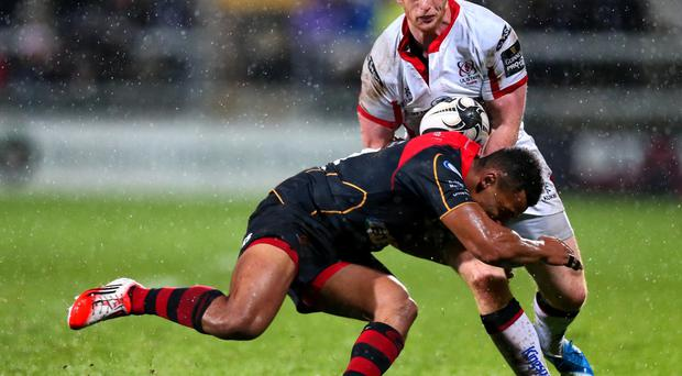 On form: Peter Nelson kicked well for the Ulster Ravens