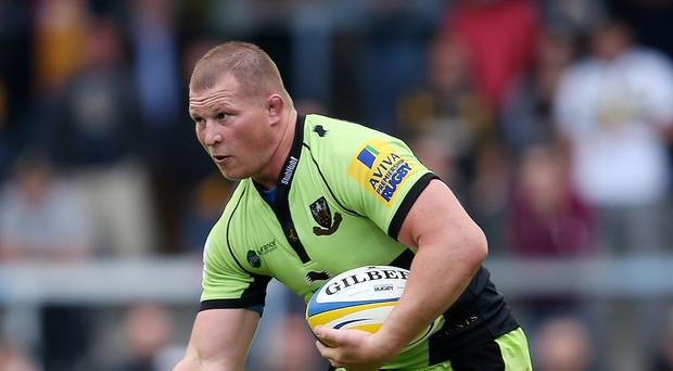 Northampton captain Dylan Hartley's team face a crucial match against Racing Metro