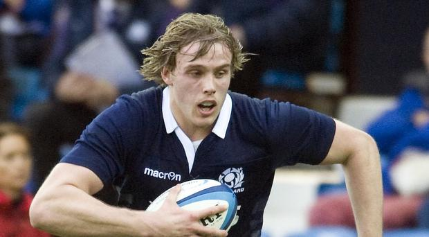 Johnny Gray scored the decisive try for Glasgow