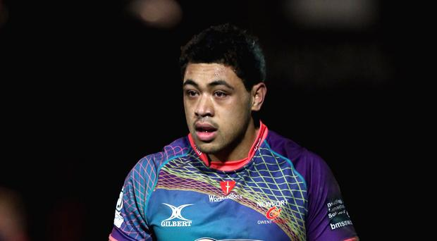 Taulupe Faletau was replaced after 23 minutes with an ankle injury
