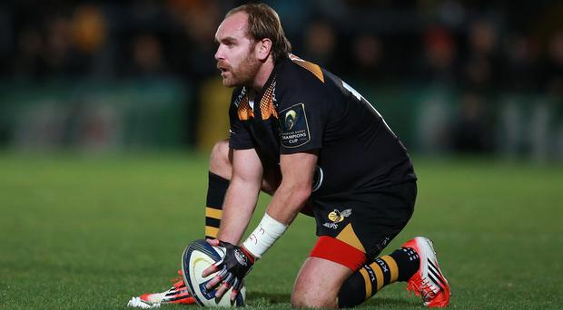 Andy Goode scored 33 of Wasps' 48 points against London Irish