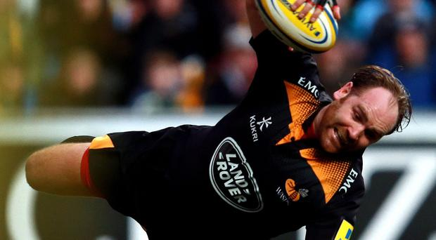 Andy Goode, pictured, broke the Premiership individual scoring record for Wasps on Sunday but his long-term future at the club could be under threat