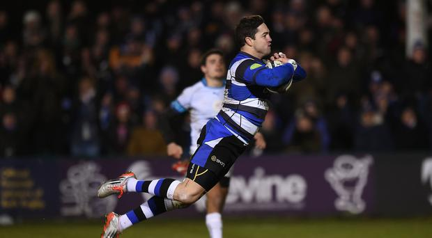 Horacio Agulla was among the tryscorers for Bath