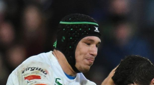 Francesco Minto's try helped secure Benetton Treviso's first win of the season in all competitions