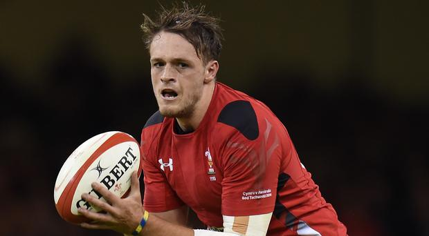 Cory Allen scored the only try of a tight south Wales derby