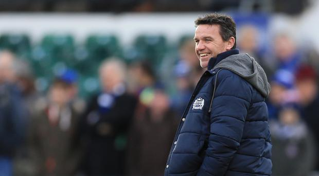 Mike Ford was not commenting on reports about Rhys Priestland