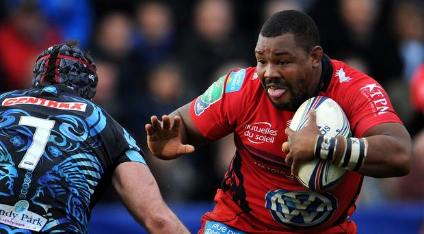 Former England number eight Nick Easter has urged England to select Toulon's Steffon Armitage, right, for the 2015 Rugby World Cup