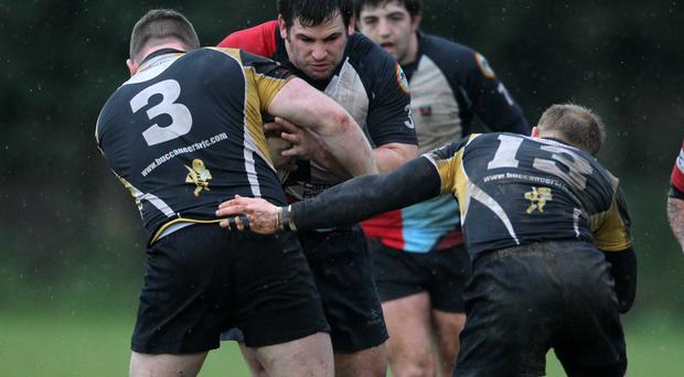 Crucial role: Ricky Lutton will feature for Harlequins