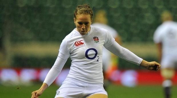 Emily Scarratt is the Rugby Union Writers' Club personality of the year