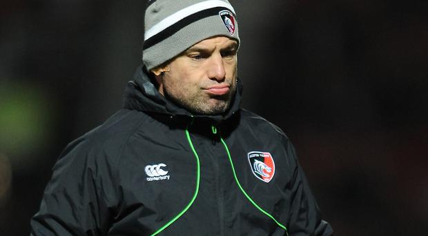 Richard Cockerill's Leicester take on Scarlets this weekend