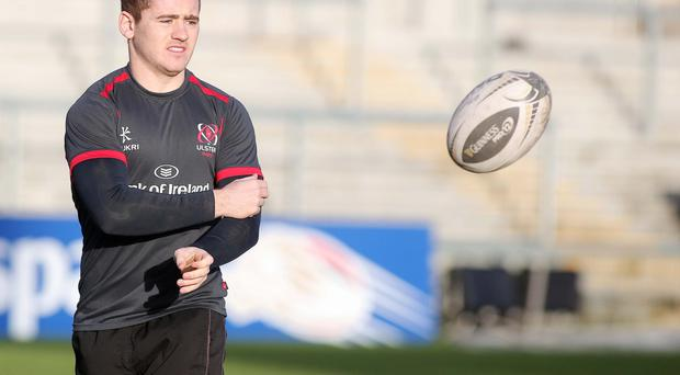 Under the knife: Paddy Jackson requires surgery
