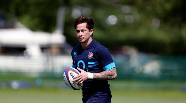 Danny Cipriani, pictured, is expected to be named in England's wider Six Nations training squad