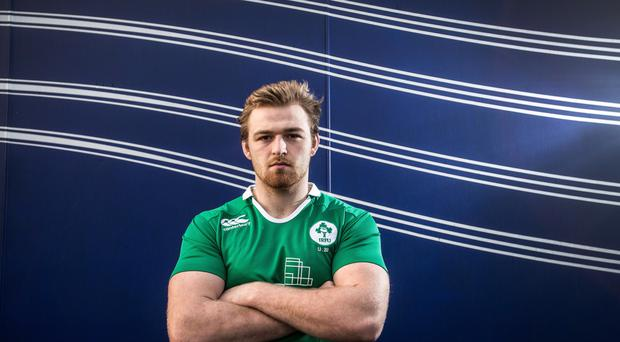 Ireland's call: Lorcan Dow has been named in the U20 squad