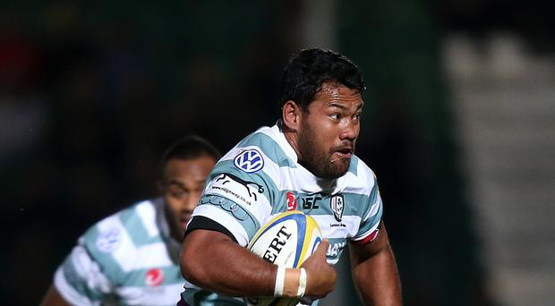 Ofisa Treviranus scored a hat-trick of tries for London Irish as they finished top of Pool One