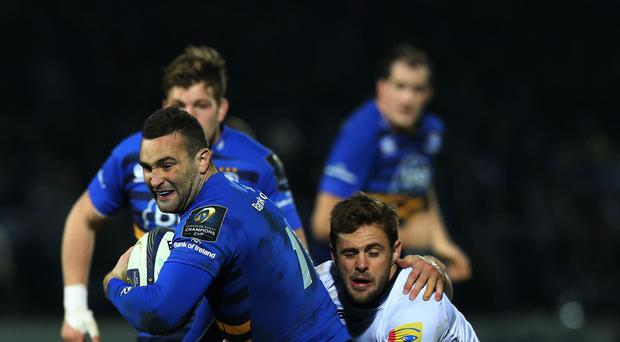 Leinster wing Dave Kearney, pictured, is likely to miss the start of Ireland's Six Nations campaign with a shoulder injury