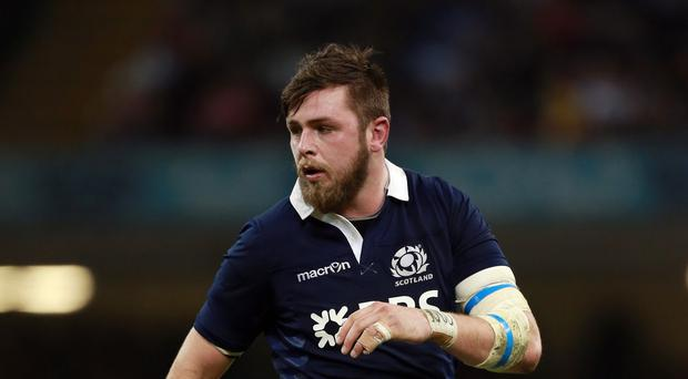 Ryan Wilson has been suspended by the Scottish Rugby Union