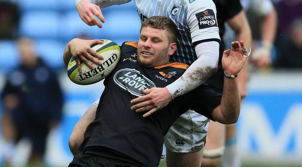 Thomas Young scored two tries as Wasps defeated Gloucester at the Ricoh Arena