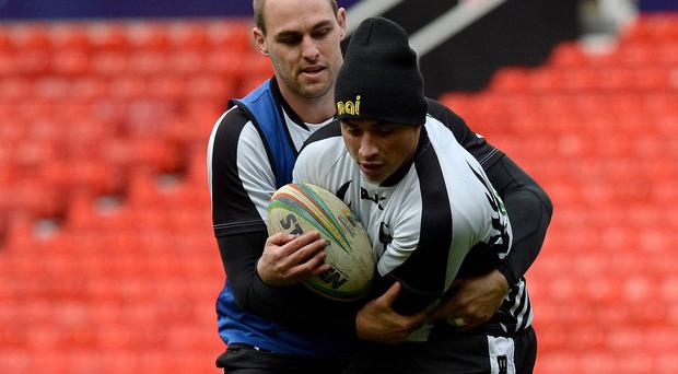 Kevin Locke must fight for his place at Salford after his move to the SRU failed to materialise