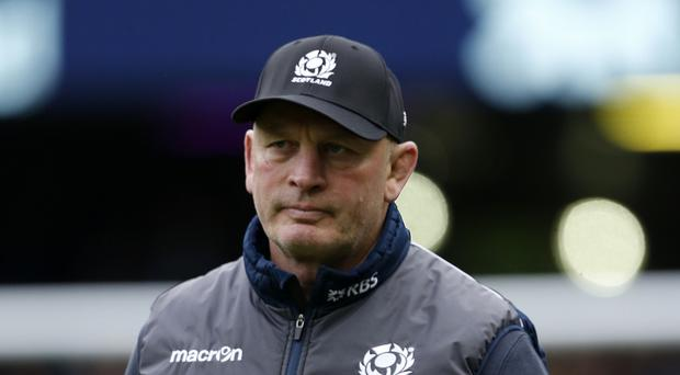 Scotland's head coach Vern Cotter, pictured, has pulled Tim Swinson, Tommy Seymour and Finn Russell from action with their clubs
