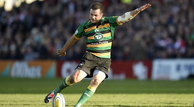 Northampton's Stephen Myler kept his cool and kicked his side to a thrilling draw