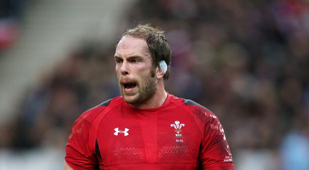 Wales lock Alun-Wyn Jones has helped drag Wales back into a tournament