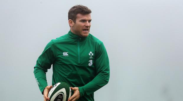Gordon D'Arcy, pictured, has been backed to reignite his Test career despite being frozen out of Ireland's squad by boss Joe Schmidt