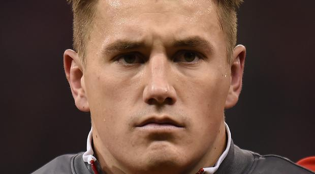 Wales' Jonathan Davies, pictured, knows just what to expect from opposing Irish fly-half talisman Johnny Sexton