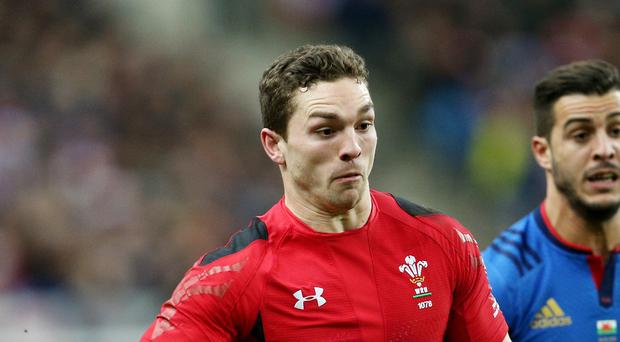 Wales wing George North was in superb form in Paris