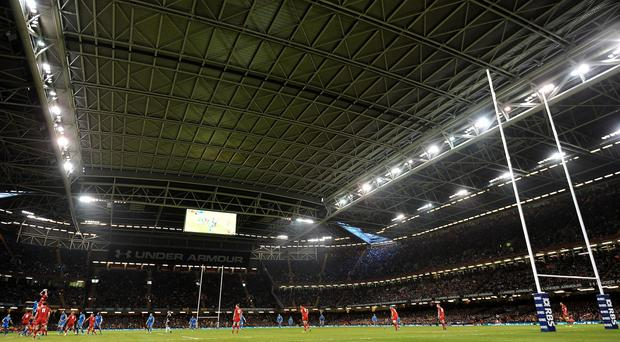 The roof on Cardiff's Millennium Stadium will be open on Saturday