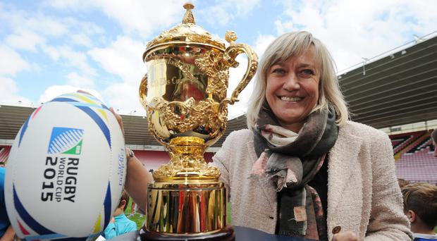 Debbie Jevans is not worried about an early England exit in the autumn