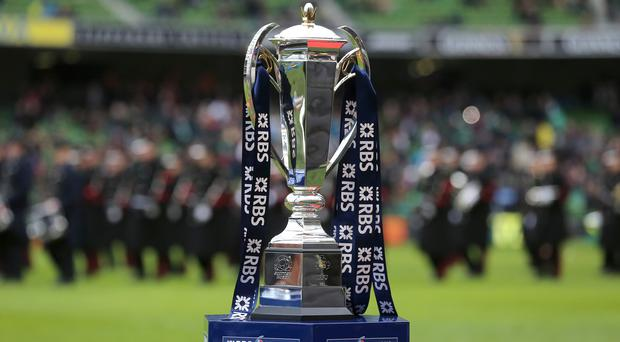 The RBS 6 Nations trophy