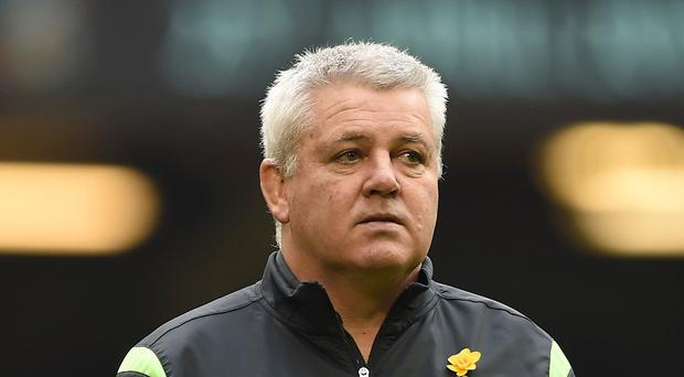 Warren Gatland has had to change his Wales front row