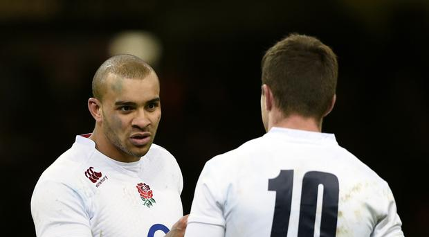 Mike Catt is impressed by the chemistry between Jonathan Joseph, pictured left, and George Ford, right