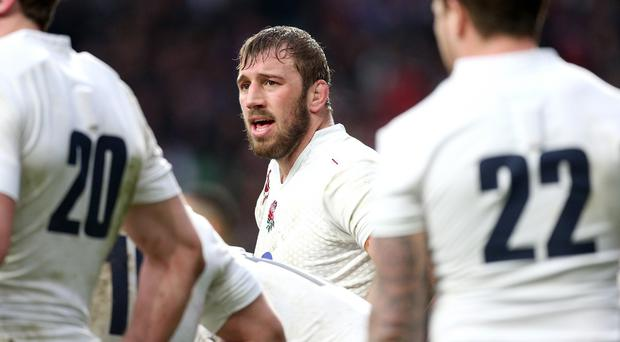 Chris Robshaw is hoping England beat France and lift the Six Nations trophy this weekend