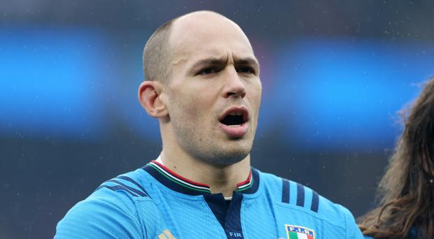 Italy captain Sergio Parisse, who will miss Saturday's RBS 6 Nations clash against Wales in Rome because of injury