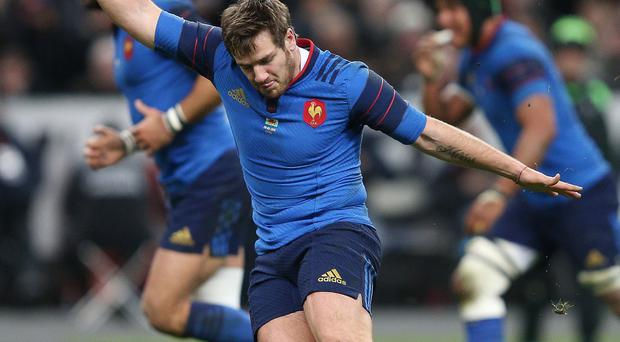 France fly-half Camille Lopez, pictured, will miss the Six Nations showdown with England