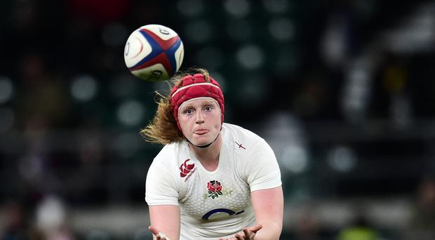 Harriet Miller-Mills' late try was nothing but a consolation for England as they lost to France at Twickenham