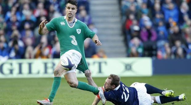 Conor Murray, left, believes Ireland can still get better despite claiming consecutive RBS 6 Nations titles