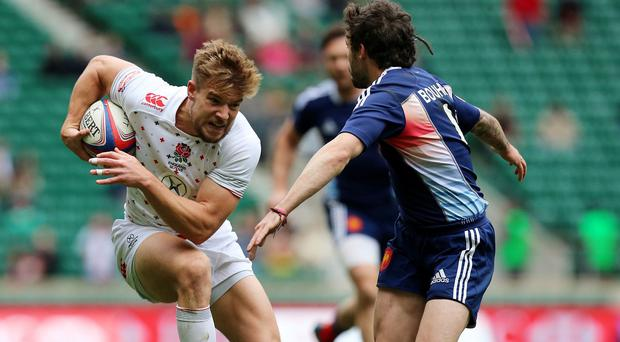 England Sevens skipper Tom Mitchell was among the scorers in the win over Wales