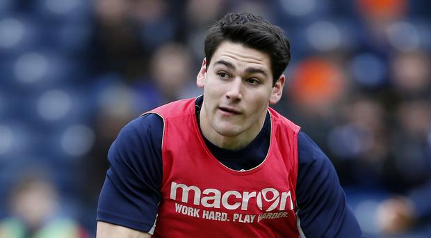 Sam Hidalgo-Clyne, pictured, was on target with the boot for Edinburgh
