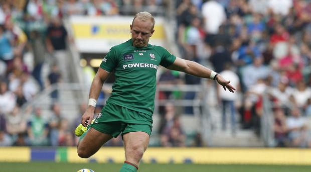 Shane Geraghty kicked two conversions as London Irish beat Newcastle