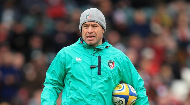 Leicester director of rugby Richard Cockerill, pictured, has not given up on securing a home semi-final