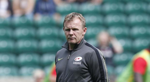 Mark McCall, pictured, was pleased to get a bonus point win against Harlequins