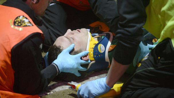George North has suffered a series of head injuries