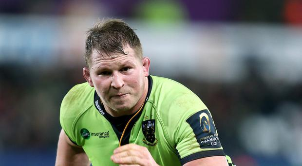 Northampton captain Dylan Hartley, pictured, says his side are determined to progress in the European Champions Cup